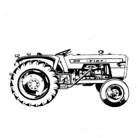 FIAT 315 Onderdelenboek - PDF
