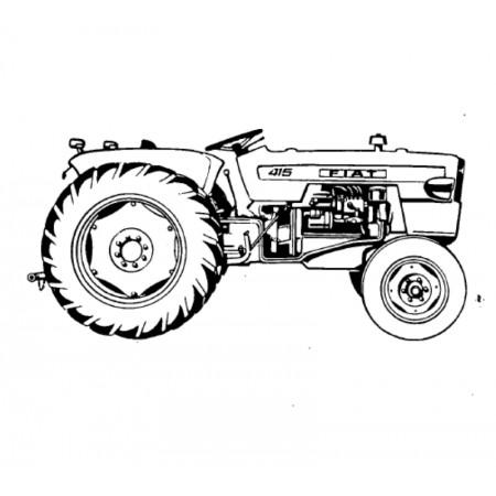 FIAT 415 Onderdelenboek - PDF