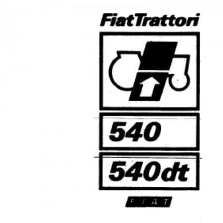 FIAT 540 Onderdelenboek - PDF