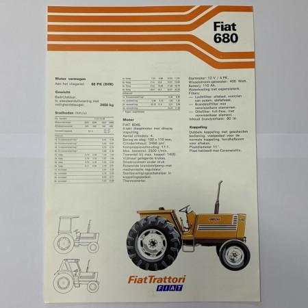 Folder FIAT 680