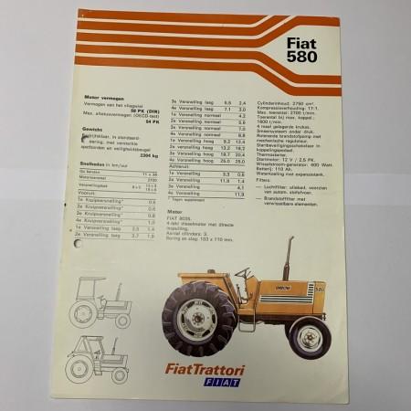 Folder FIAT 580