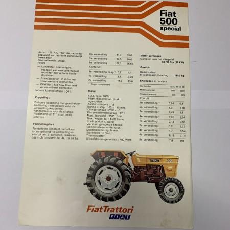 Folder FIAT 500 Special