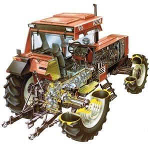 Tractoronderdelen voor Fiat, Fiat Someca, Fiat Agri, FPT enz